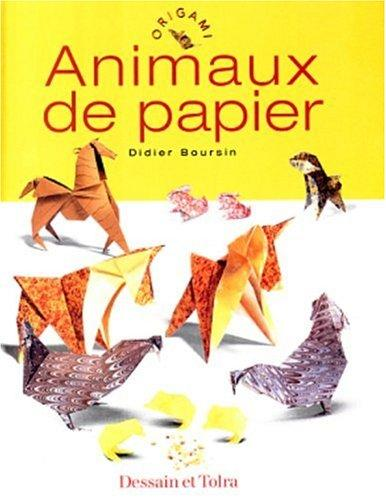 Animaux de papier by Didier Boursin