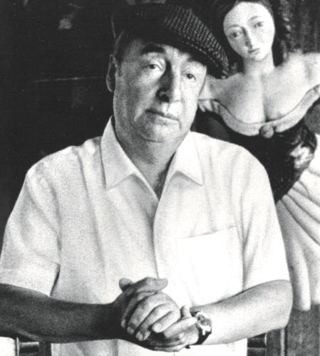Photo of Pablo Neruda