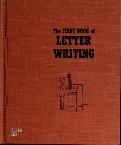 The first book of letter writing by Helen Jacobson