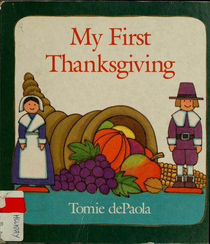 My first Thanksgiving by Jean Little