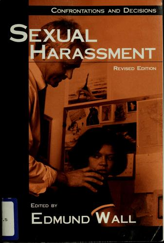 Sexual harassment by Edmund Wall
