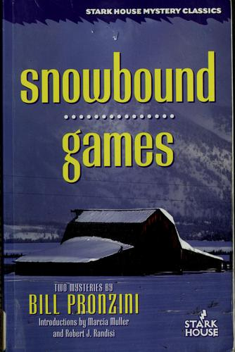 Snowbound by Bill Pronzini
