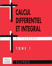 Calcul differentiel integral