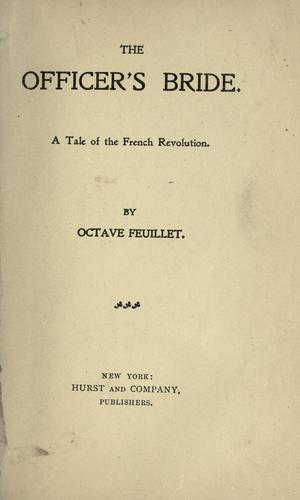 The officer's bride by Feuillet, Octave