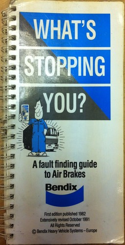 What's stopping you by Bendix Limited.