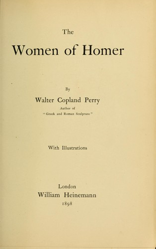 The women of Homer
