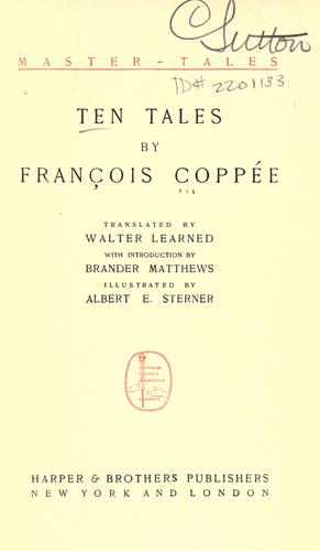 Ten tales by François Coppée