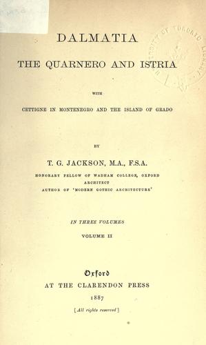 Dalmatia by Jackson, Thomas Graham Sir