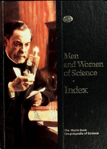 Men and women of science ; Index by
