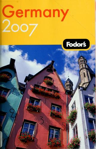 Fodor's 07 Germany by Mary Beth Bohman
