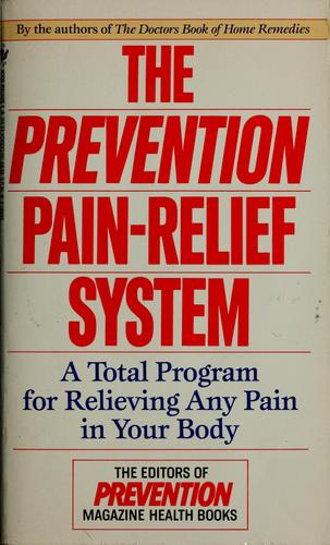 The Prevention pain-relief system by Alice Feinstein
