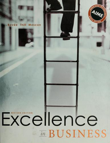 Excellence in business by Courtland L. Bovée