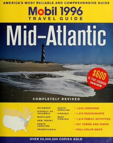 1996 Mobil travel guide, Mid-Atlantic by Mobil Oil Corporation