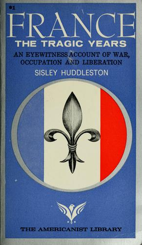 France by Sisley Huddleston