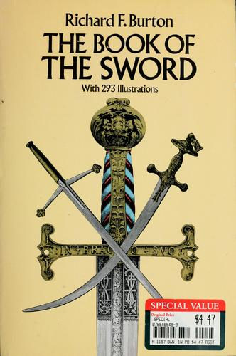 The book of the sword by Sir Richard Burton