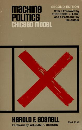 Machine politics: Chicago model