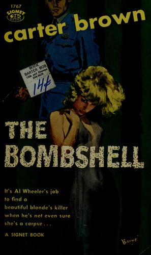 The bombshell by Carter Brown