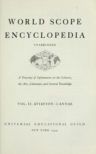 World scope encyclopedia by