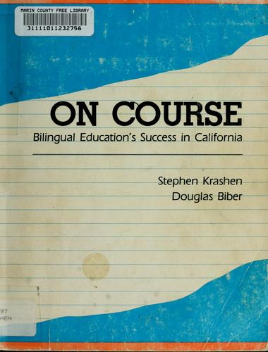 On course by Stephen D. Krashen