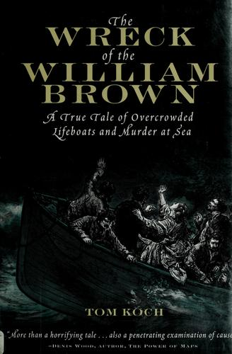 The wreck of the William Brown