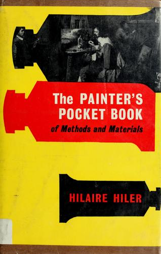 The painter's pocket-book of methods and materials