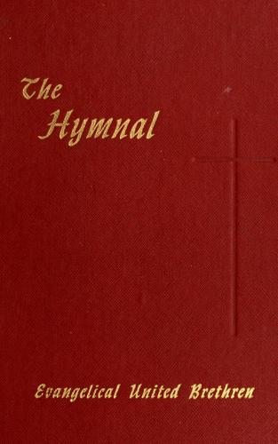 The Hymnal of the Evangelical United Brethren Church by