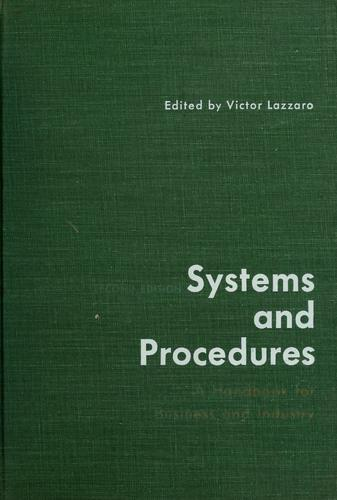 Systems and procedures by Victor Lazzaro