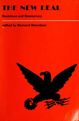 The new deal by Bernard Sternsher