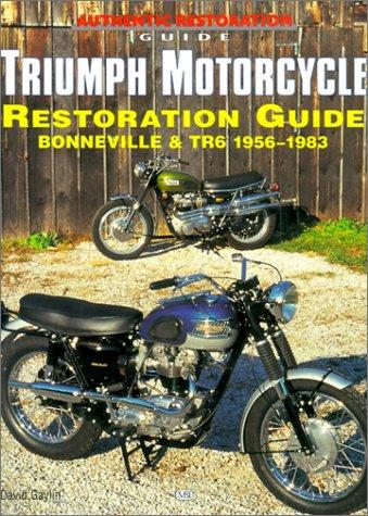 Triumph motorcycle restoration guide by David Gaylin