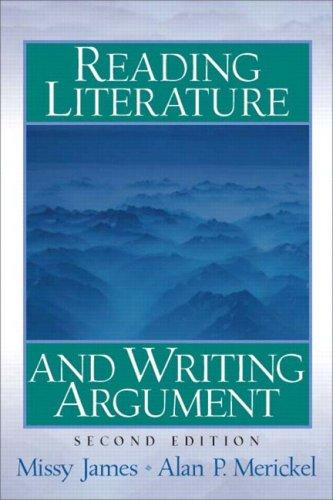 Reading literature and writing argument