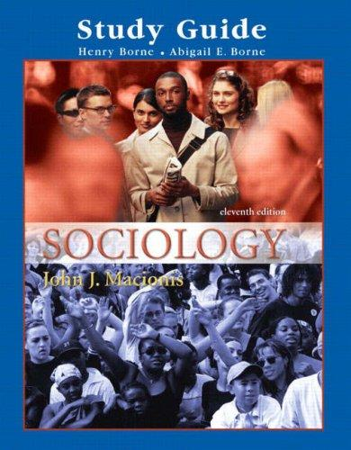 Supplement: Study Guide - Sociology by Pearson