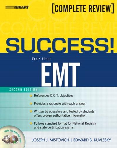 SUCCESS! for the EMT-Basic (2nd Edition) (Success Across the Boards) by Joseph J. Mistovich