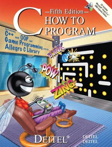 C How to Program (5th Edition) (How to Program)