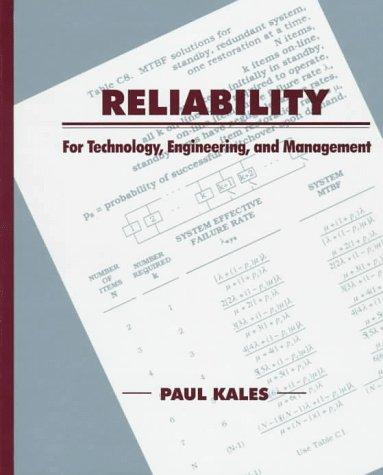 Reliability by Paul Kales