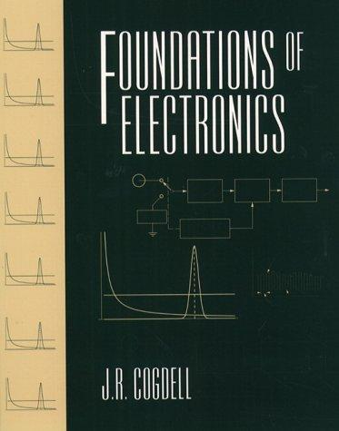 Foundations of electronics by J. R. Cogdell