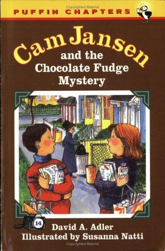 Cam Jansen and the Chocolate Fudge Mystery (Cam Jansen) by David A. Adler