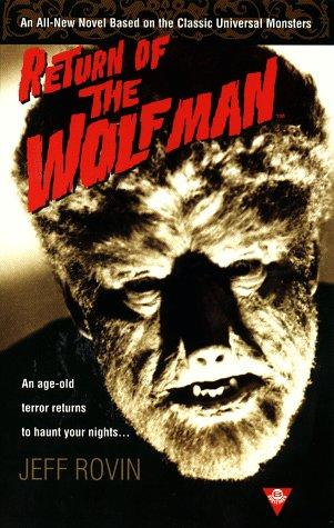 Return oftThe Wolf Man by Jeff Rovin