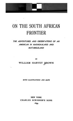 On the South African frontier