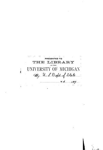 Calendar of the correspondence of James Monroe