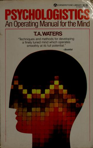 Psychologistics by T. A. Water