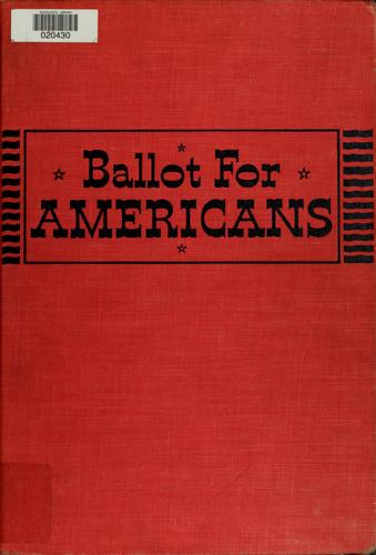 Ballot for Americans by Lamont Buchanan