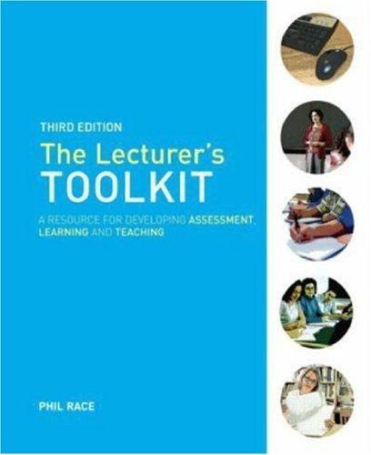 The Lecturers Toolkit