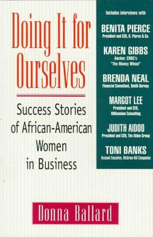 Doing it for ourselves by Donna Ballard