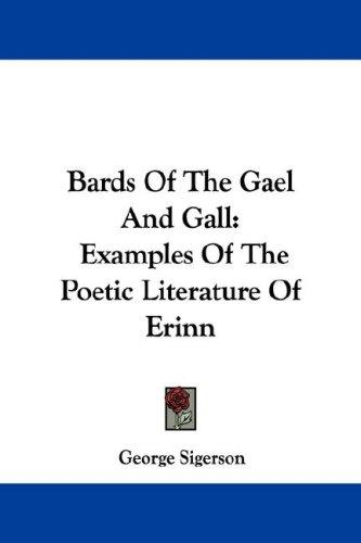 Bards Of The Gael And Gall