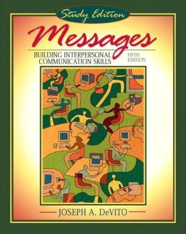 Messages by Joesph A. DeVito