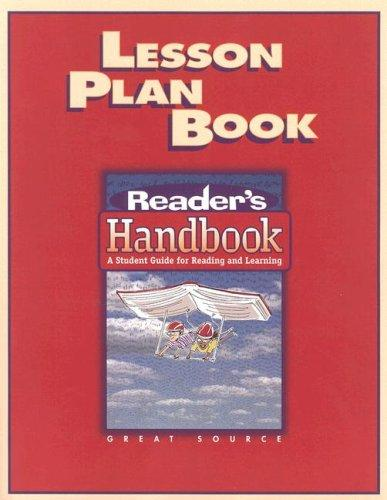 Image 0 of Great Source Reader's Handbooks: Lesson Plan Book 2002
