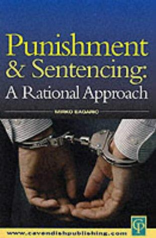 Punishment and sentencing by