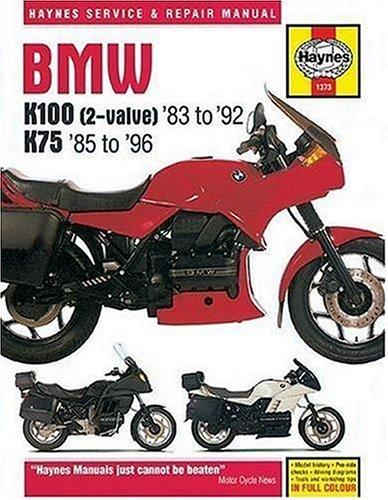 Bmw K100 & 75 Owners Workshop Manual (K7585-8) by John Harold Haynes