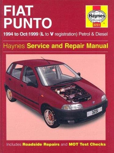 Fiat Punto (1994-1999) Service and Repair Manual by John Harold Haynes, Spencer Drayton