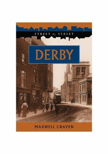 Derby (Street by Street) by Maxwell Craven